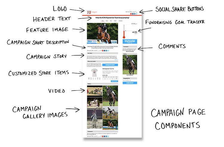 Campaign Page Components